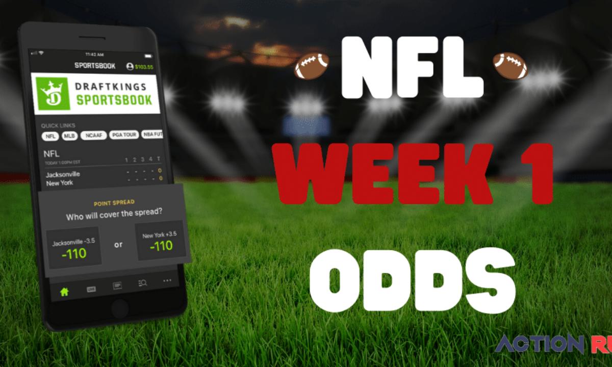 nfl week 1 betting lines 2021