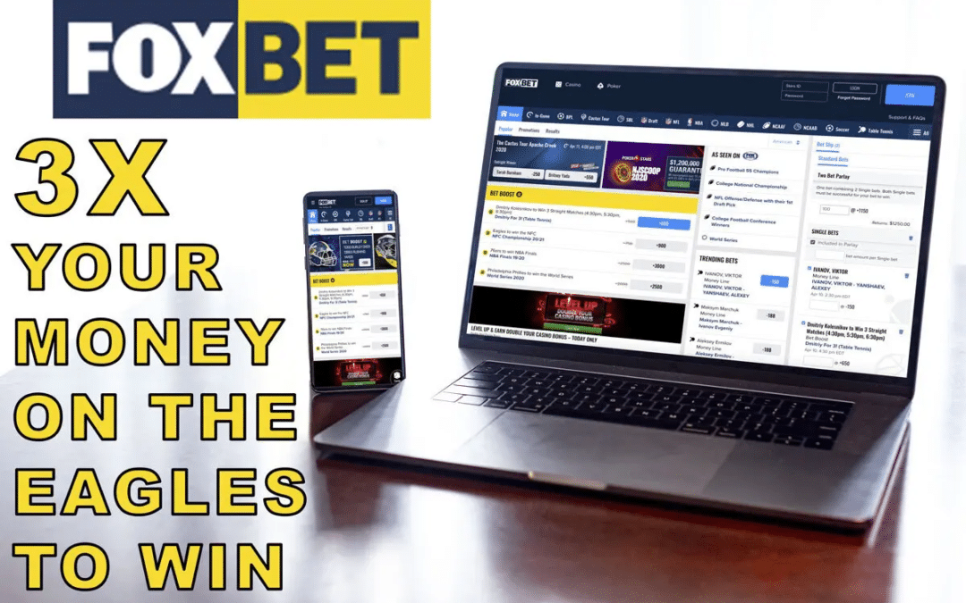 FOX Bet Is Tripling Your Money On An Eagles Win This Sunday