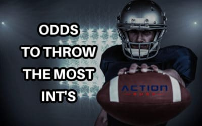 Which NFL QB is Favored at DraftKings To Throw The Most INT's This Season?